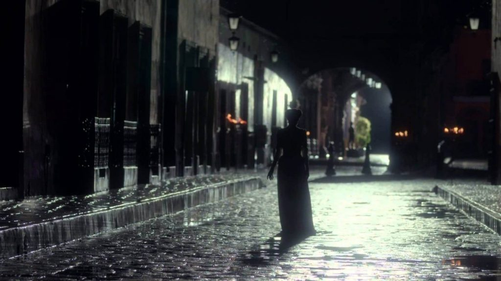Chorona ou la llorona lenda mundo sombrio rua