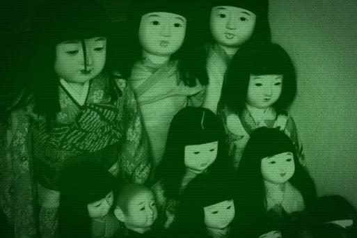 Site Japonês Transmitiu Bonecos Assombrados Durante 5 Dias e Meio