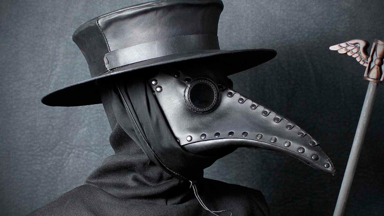 máscara da peste mundo sombrio