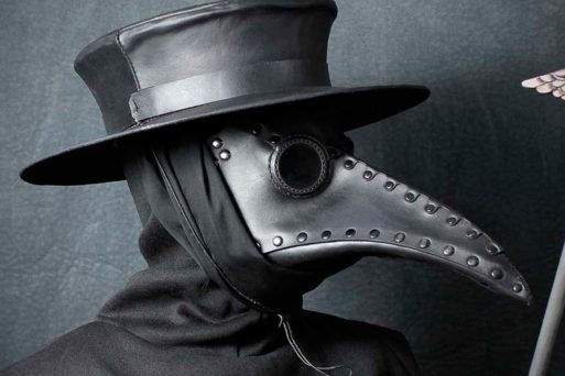 A Curiosa História por trás da Máscara da Peste Negra