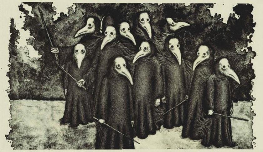 Médicos da peste negra