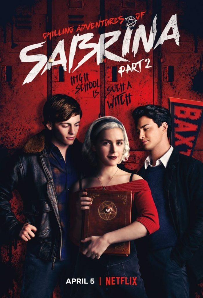 Cartaz da Série 'O Mundo Sombrio de Sabrina' da Netflix