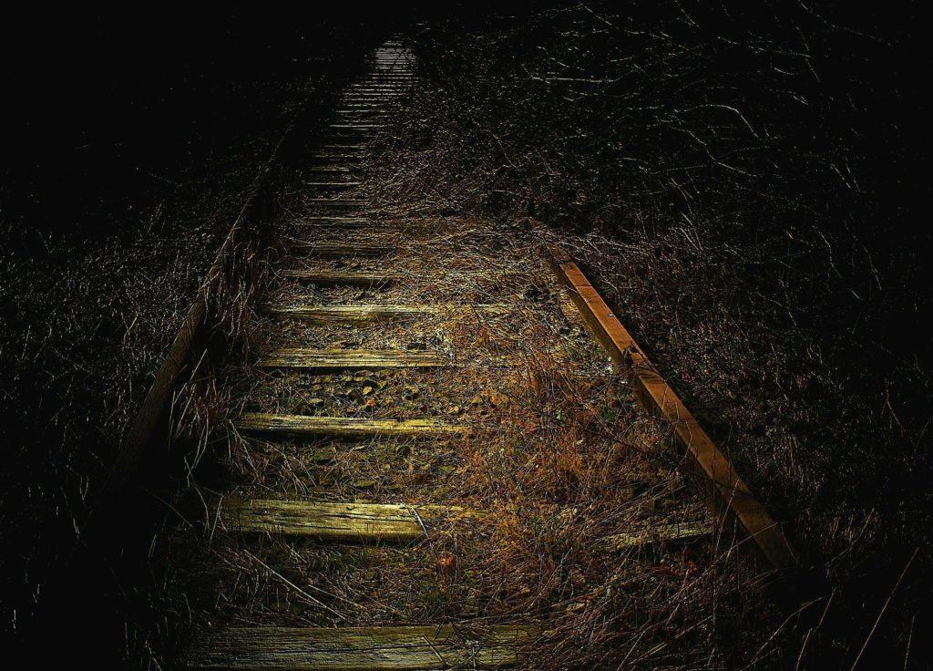 o ferroviário história de terror ferrovia antiga