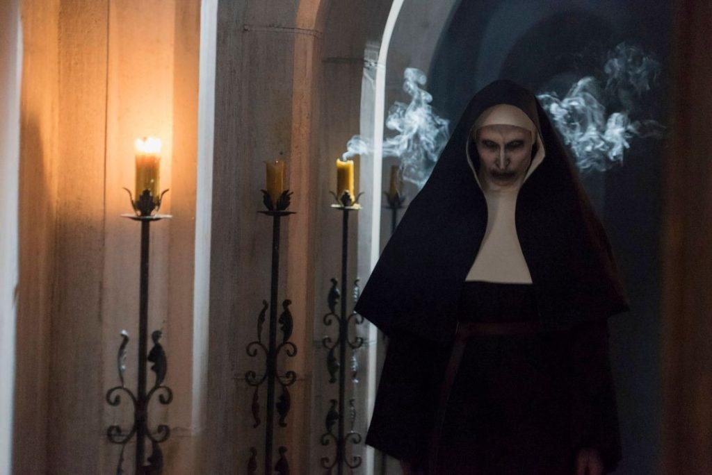 Valak no filme campeão de bilheterias a freira (2018)
