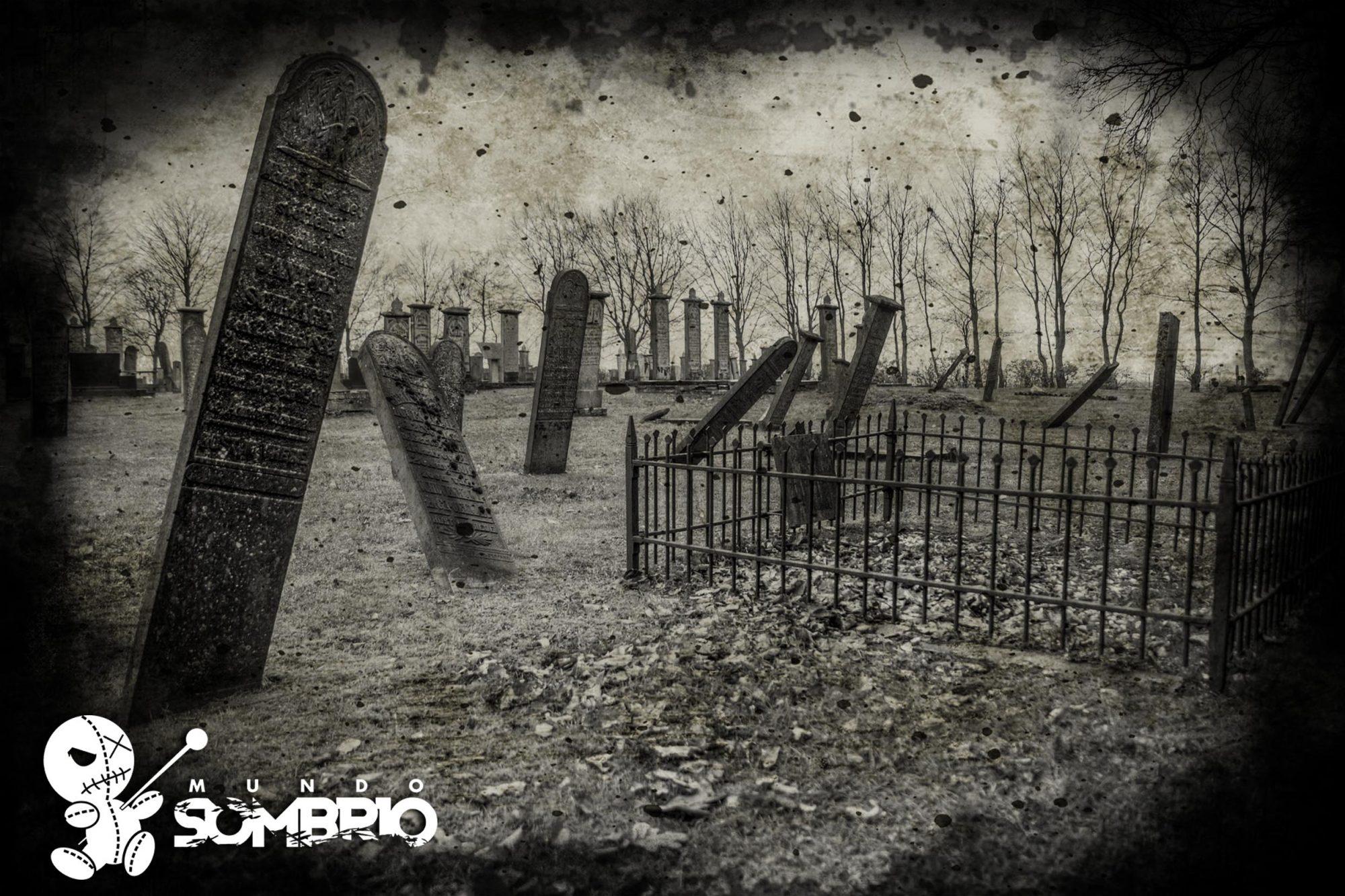 o túmulo história de terror