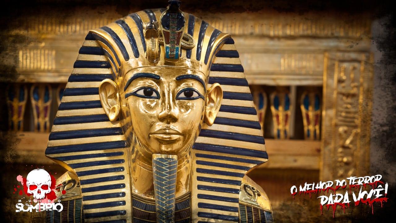 tutancâmon a maldição do faraó Mensagem Inexplicável do Mundo dos Mortos mundo sombrio