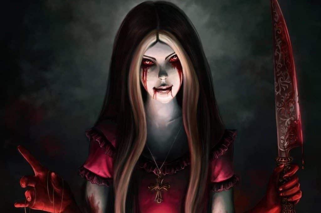 Bloody Mary mundo sombrio