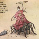 Jorogumo | A Criatura Metade Mulher e Metade Aranha