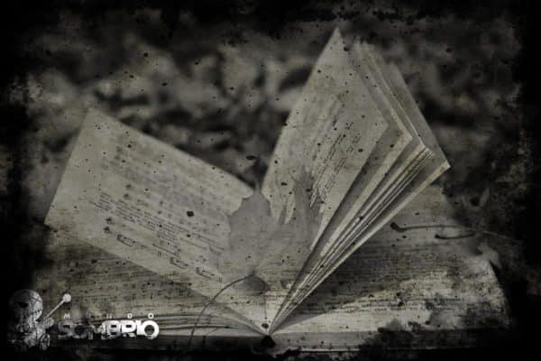 o livro de músicas história de terror