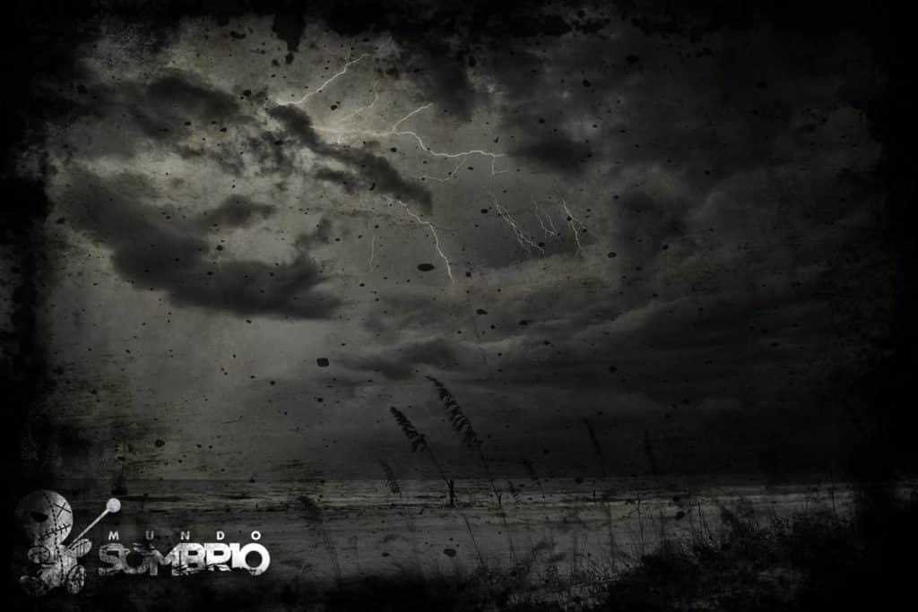 tempestade história de terror mundo sombrio