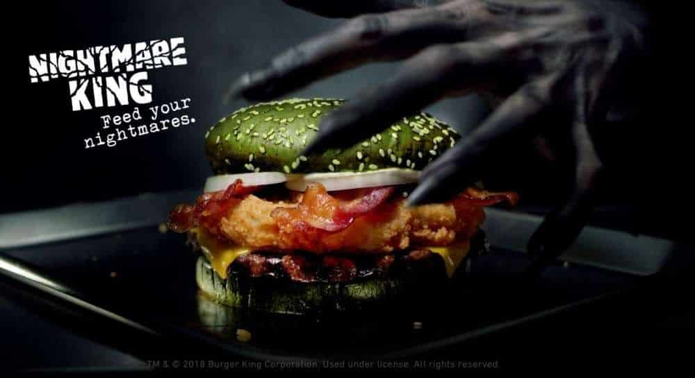 hamburguer que causa pesadelos mundo sombrio