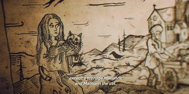 Marianne e mathurin • mundo sombrio