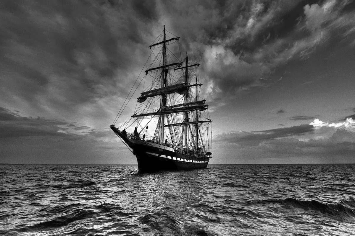 navio mary celeste maria celeste mundo sombrio