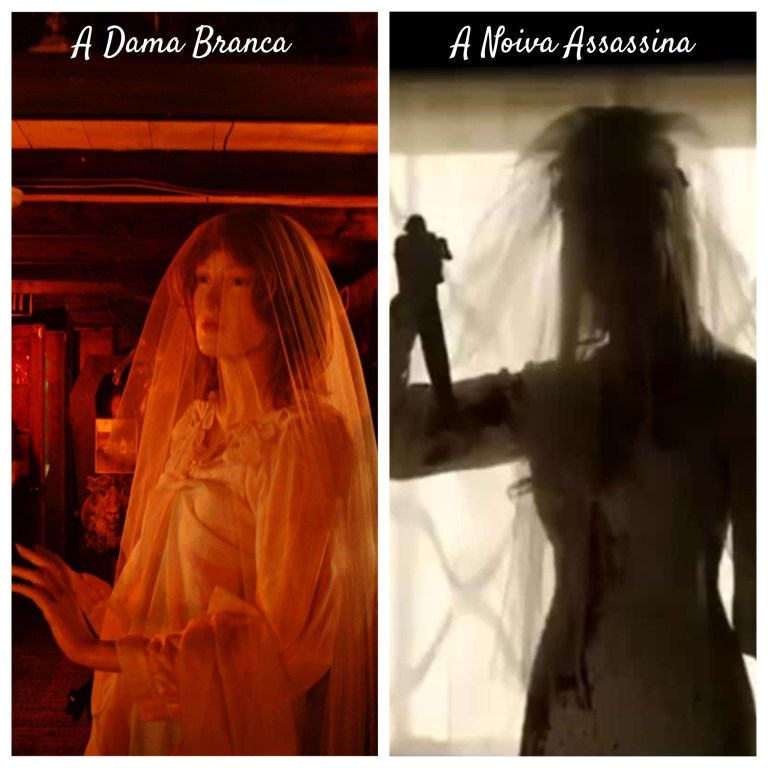 Vestido de noiva • mundo sombrio