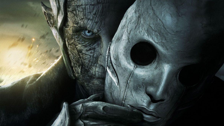 máscara de halloween história de terror mundo sombrio 2