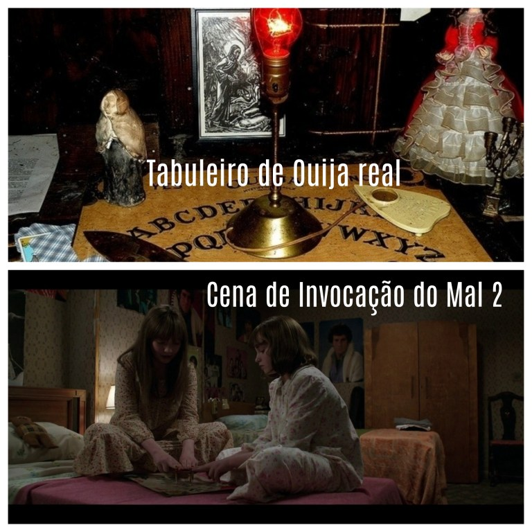 Ouija board museu dos warren • mundo sombrio