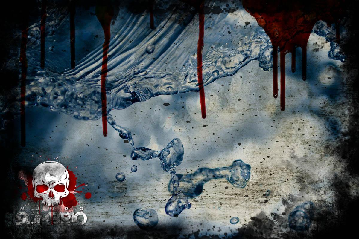 água potável história de terror mundo sombrio