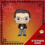 Stephen King é homenageado pela Funko com uma figura Pop! exclusiva