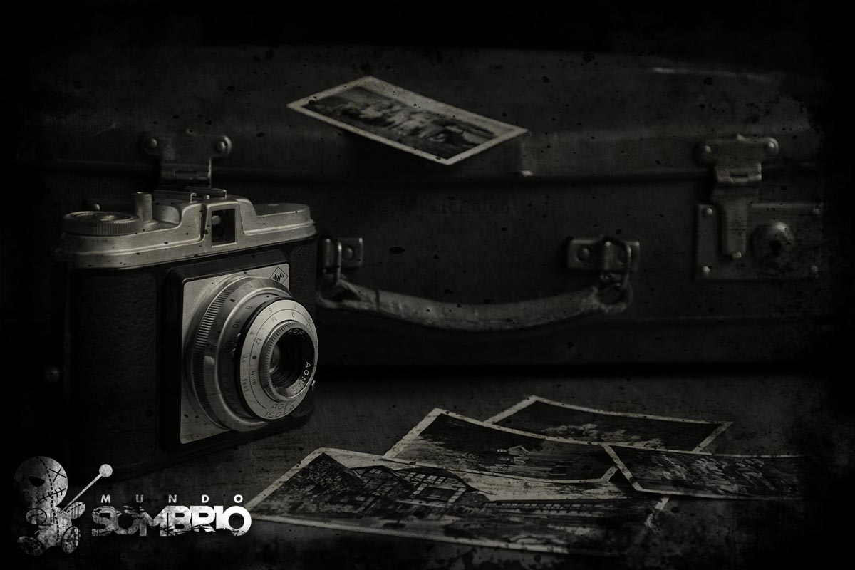 a câmera digital história de terror