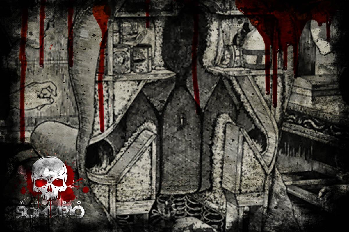 A Cadeira Humana [História de Terror] mundo sombrio