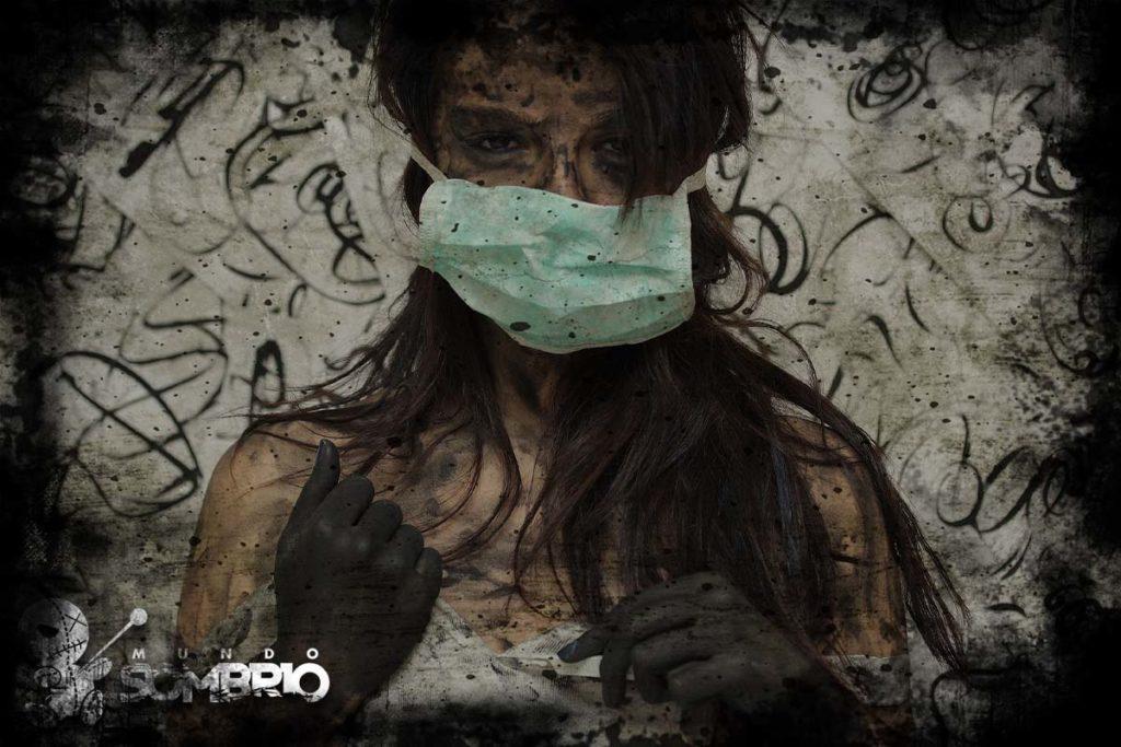 a enfermeira história de terror