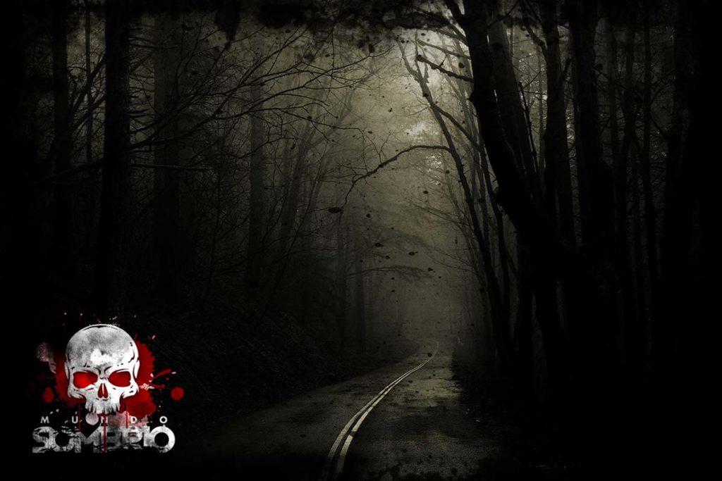 a estrada escura história de terror mundo sombrio