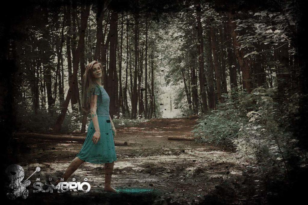 a menina do vestido azul relato sobrenatural