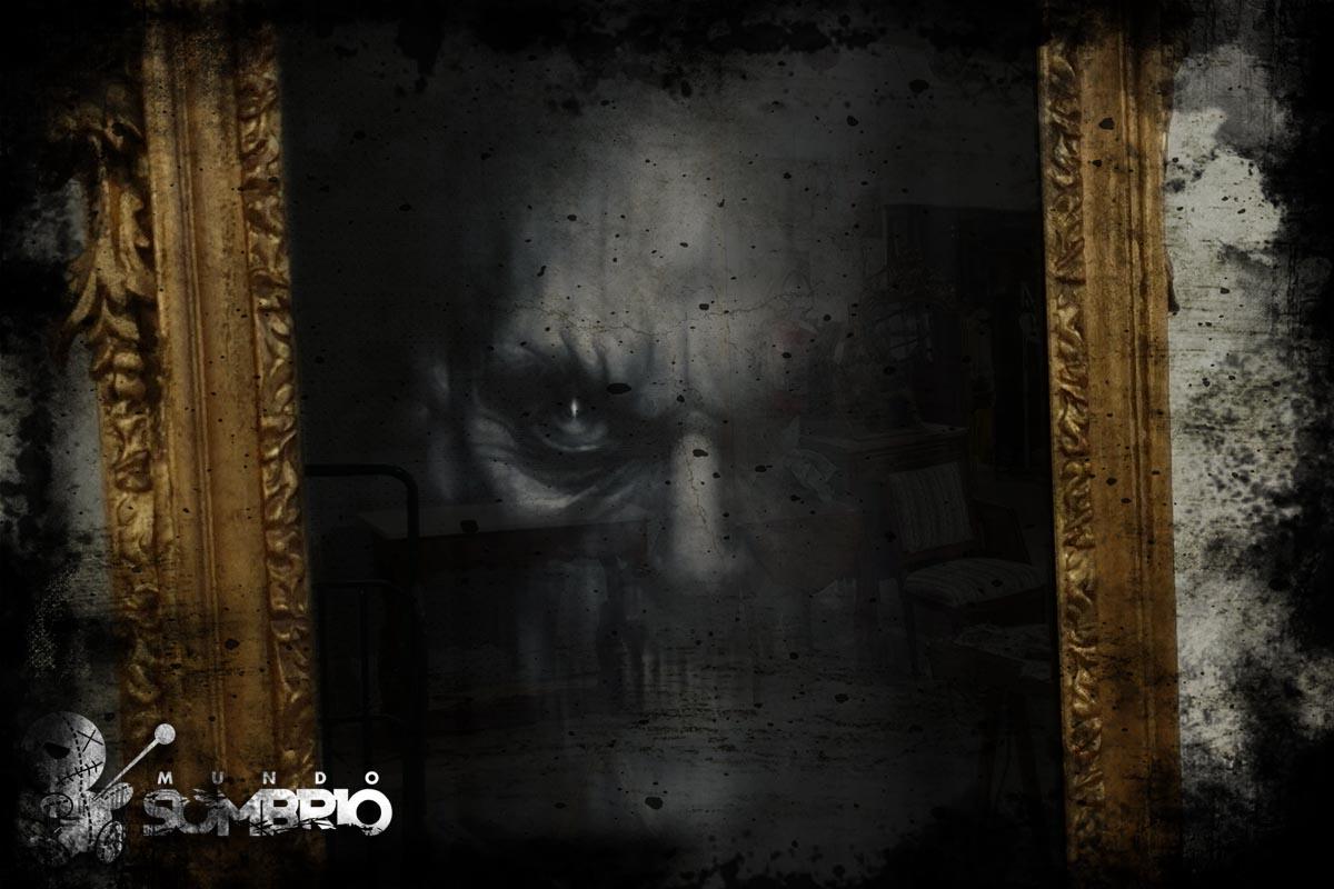 o demônio no espelho história de terror