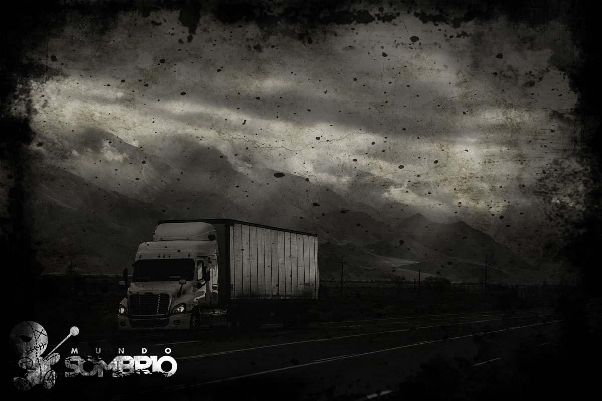 o homem no caminhão história de terror