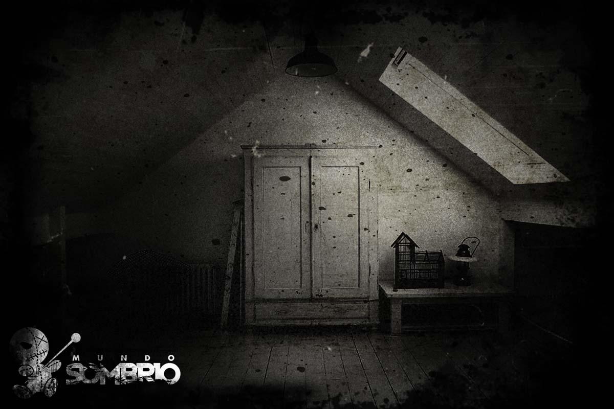 o monstro no armário história de terror mundo sombrio