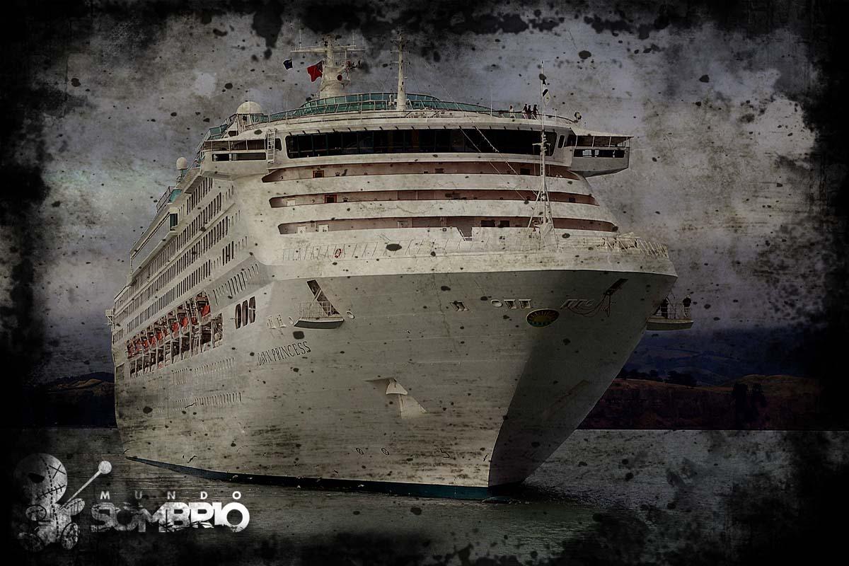 o navio de cruzeiro história de terror