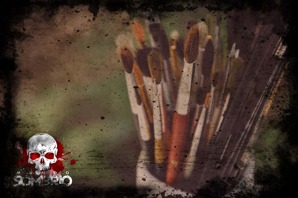 o pintor cego história de terror mundo sombrio