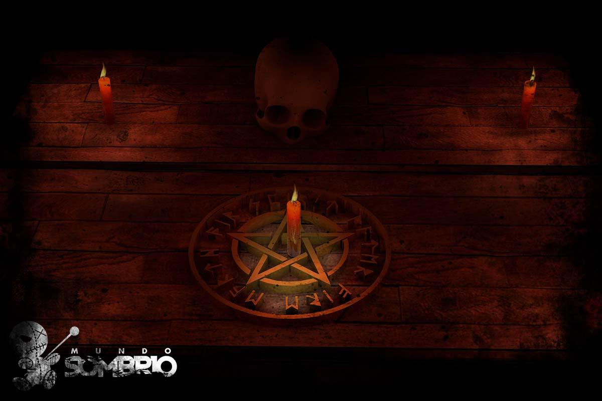 o ritual maldito história de terror