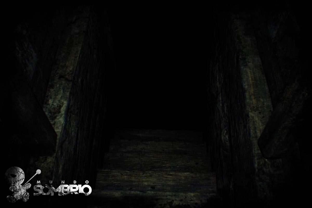 o sono e a escada história de terror