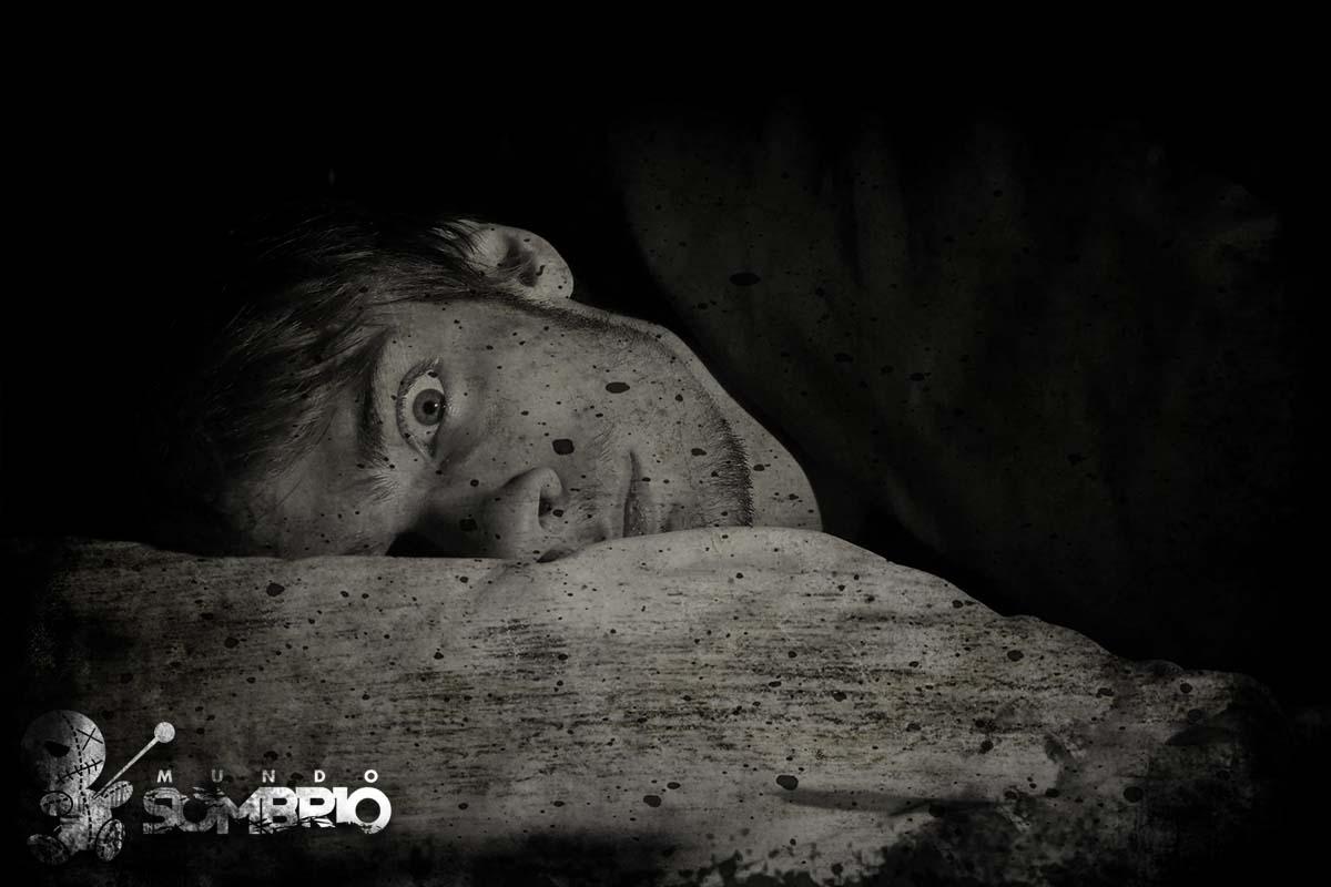 sono sombrio história de terror