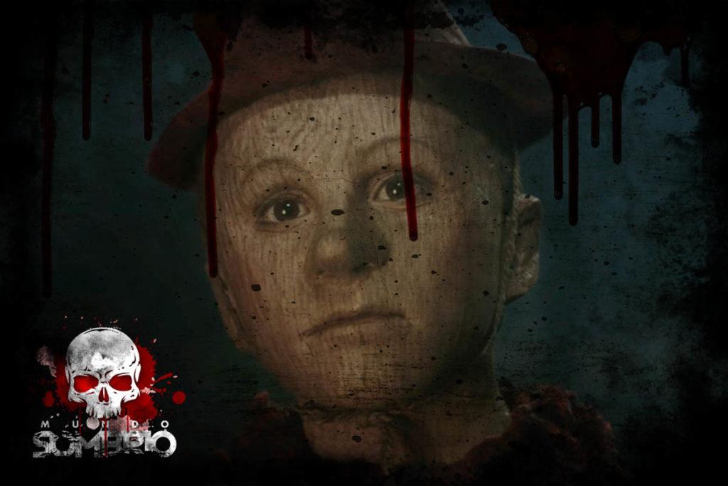 Pinóquio, o Maldito Boneco de Madeira história de terror mundo sombrio