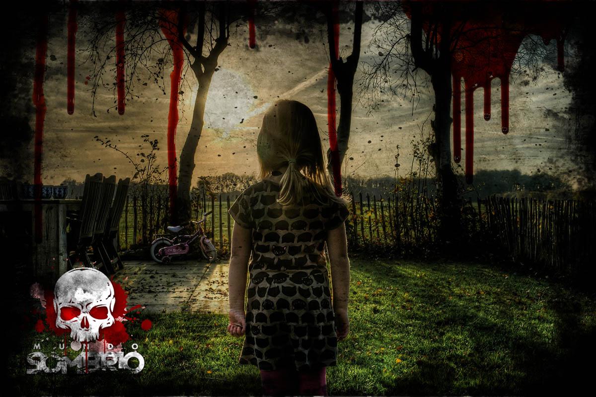 jardim de sangue história de terror mundo sombrio
