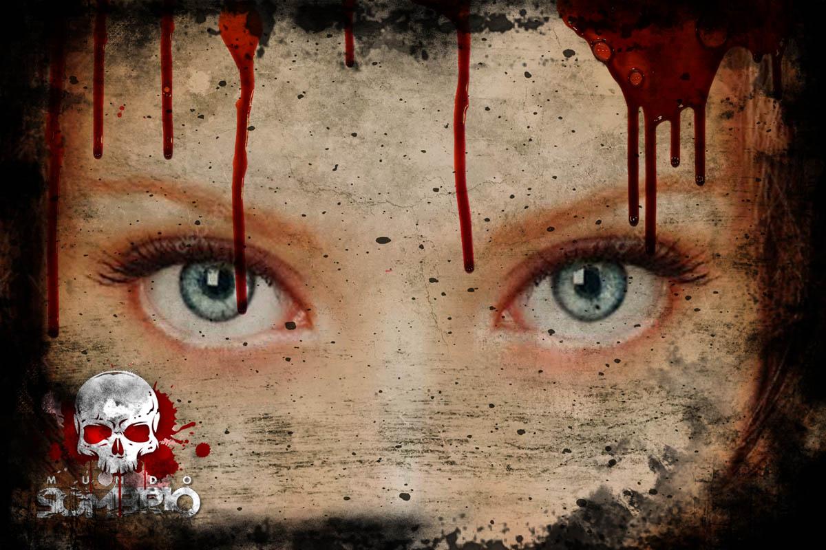 olhos azuis história de terror mundo sombrio