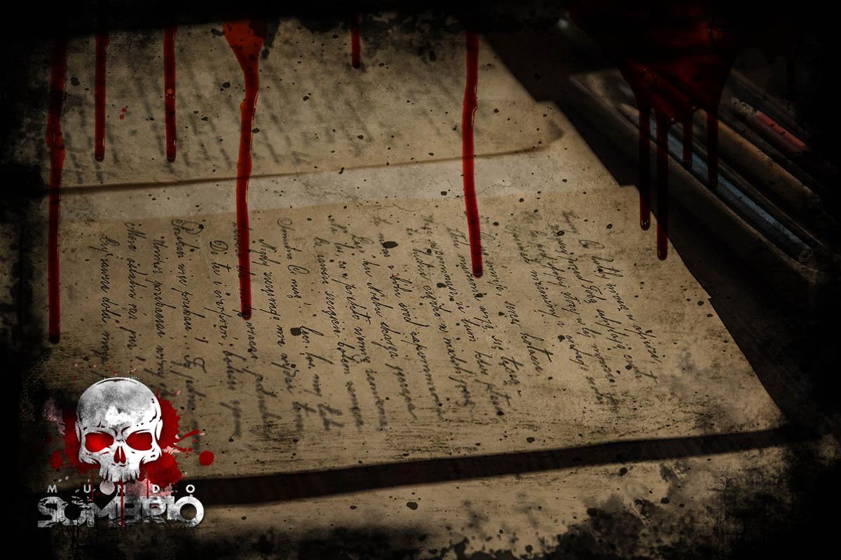 carta de despedida história de terror mundo sombrio
