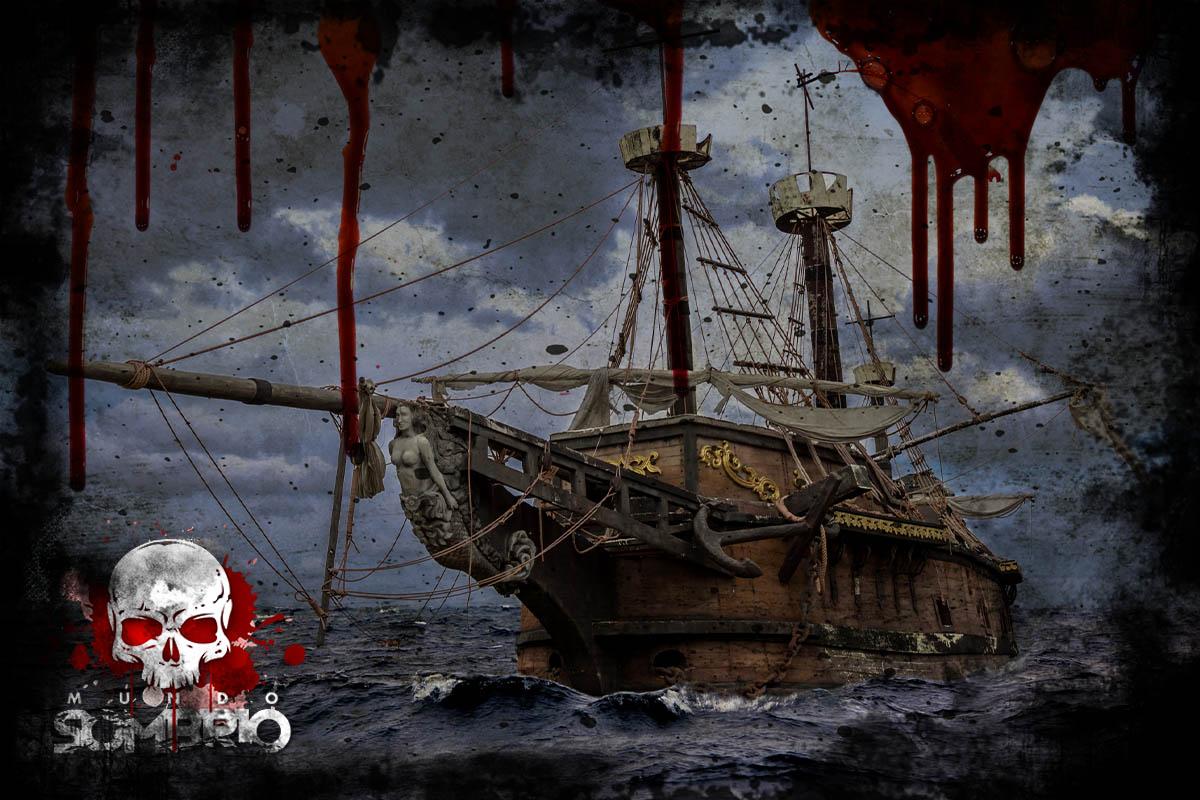 o navio fantasma história de terror mundo sombrio
