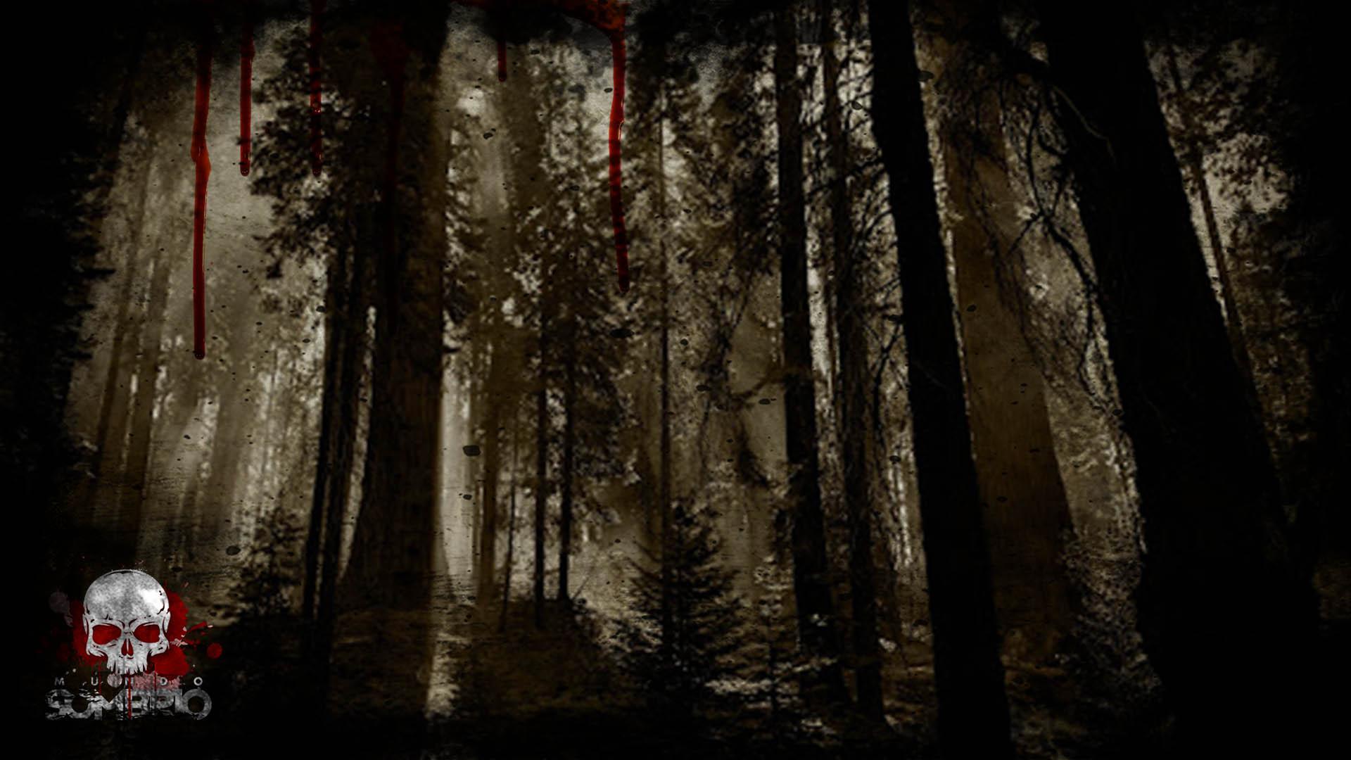 a floresta história de terror mundo sombrio