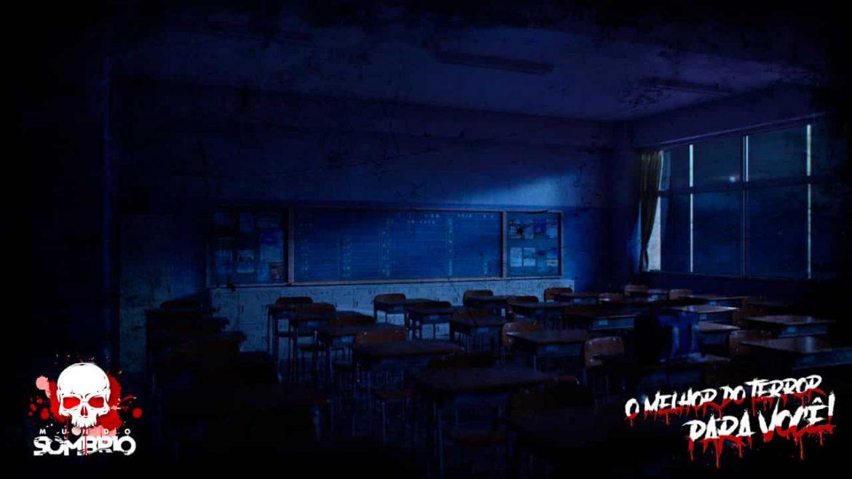 A Escola à Noite lenda japonesa mundo sombrio