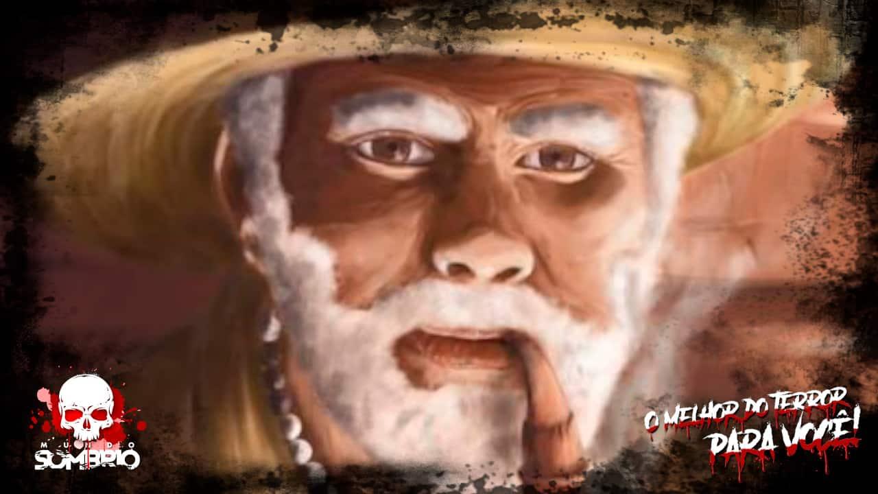 O Velho de Chapéu de Palha Relato Sobrenatural mundo sombrio