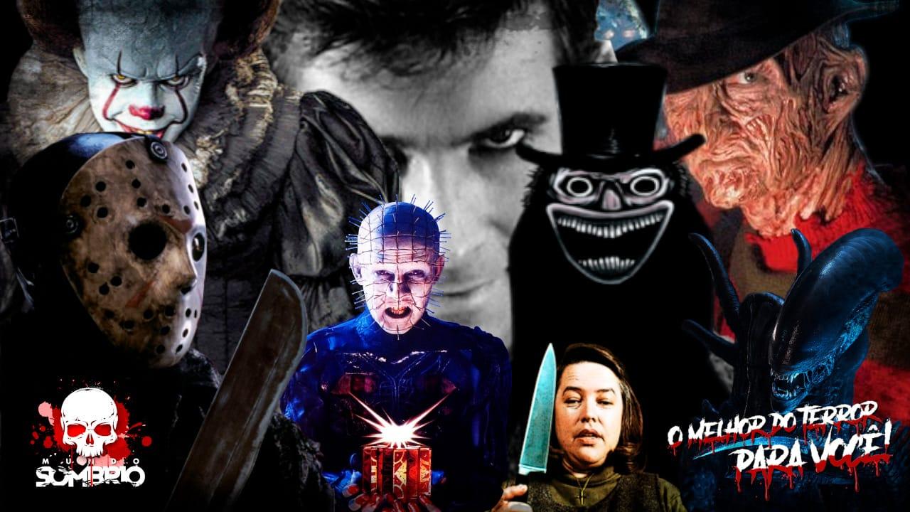 Os 33 Vilões de Terror mais Assustadores de todos os Tempos