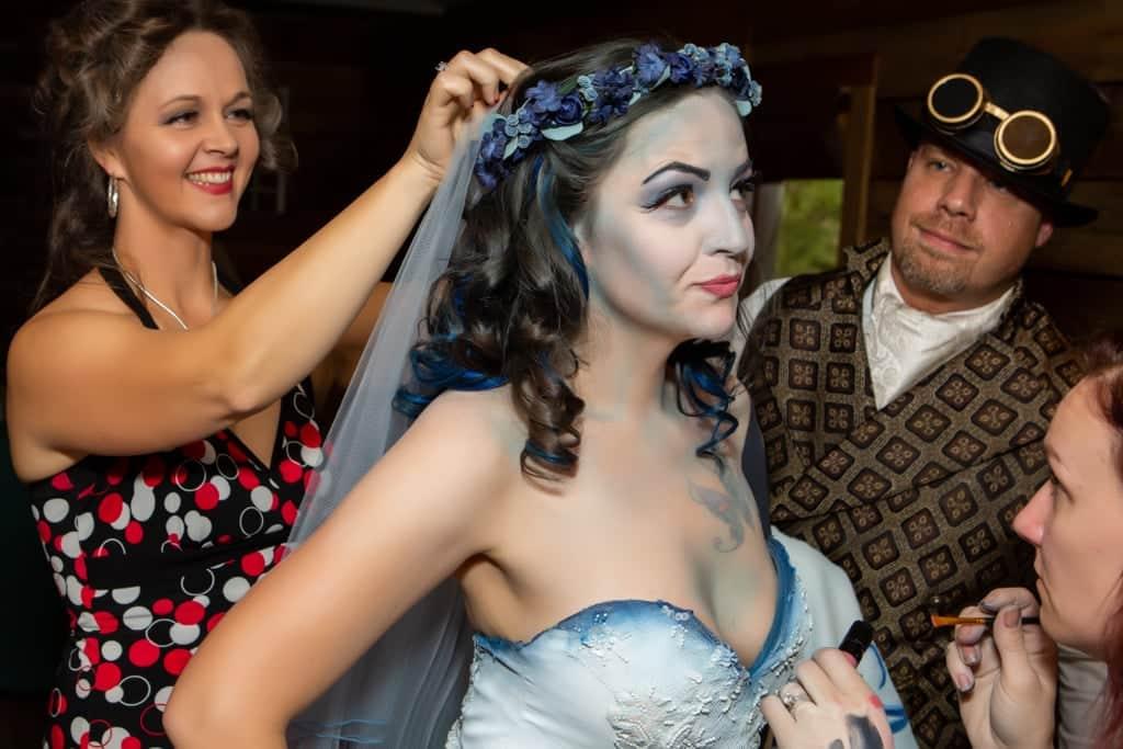 Tim burton corpse bride wedding ideas11 • mundo sombrio