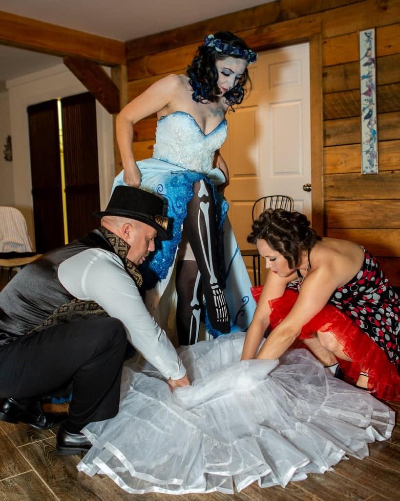 Tim burton corpse bride wedding ideas12 • mundo sombrio