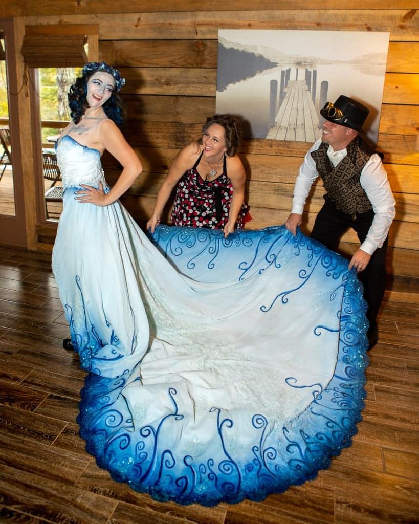 Tim burton corpse bride wedding ideas13 • mundo sombrio