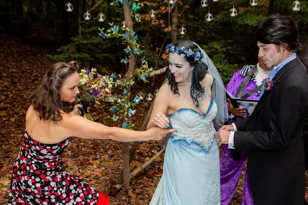 Tim burton corpse bride wedding ideas30 • mundo sombrio
