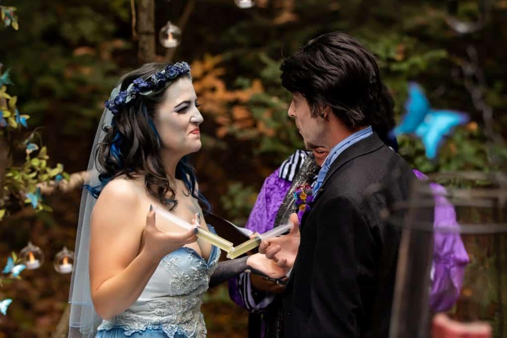 Tim burton corpse bride wedding ideas35 • mundo sombrio