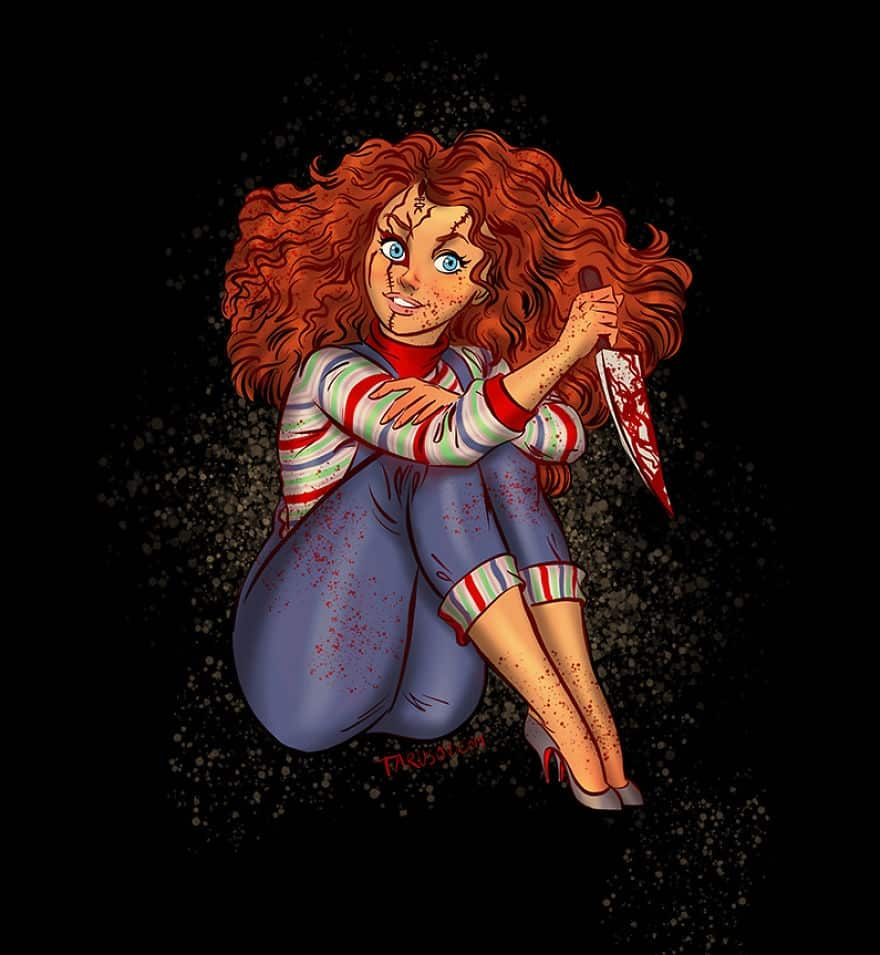 Chucky • mundo sombrio